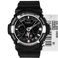Casio G Shock GA200-1A Black W/ Silver Combi COD Paypal FreeShip- Watchcenterph
