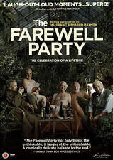 The Farewell Party (DVD) Jerusalem Retirement Home Euthanasia Dramedy BRAND NEW