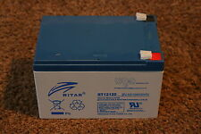 Ritar RT12120EV - 12 Volt 12ah battery for childs Peg Perigo or Ferber toy car
