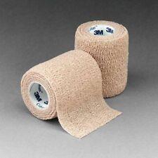 """3M Coban Self-Adherent Bandage Wrap 1584, 1/2 Case, 4""""x5yd Tan **FREE SHIPPING**"""