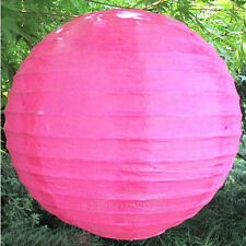 "Lot 5pcs 6 "" 8 ""12"" Chinese paper lantern family party wedding decoration"