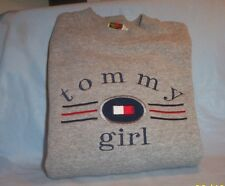 TOMMY HILFIGER WOMEN'S  SIZE LARGE GRAY SWEATSHIRT TOMMY GIRL from 2001