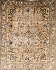 "Antique All-Over Muted Color 9x12 Tabriz Persian Oriental Area Rug 11' 5"" x 8' 8"