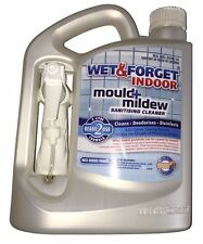 Wet and Forget Indoor. 2 Litre. Removes Mould, Mildew. Sanitising Cleaner