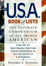 The U.S.A. Book of Lists: The Ultimate Compendium of All Things American by...