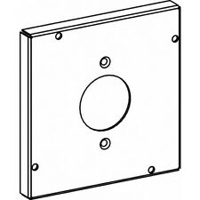Orbit 5505 5 Inch Square Industrial Cover Power Outlet 1.6 Inch