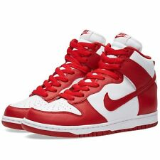 Men's Nike Dunk Retro St. Johns Sneaker Red - White Size 9 Brand New!