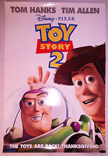 """Toy Story 2 (1999) original advance one-sheet movie poster (27""""x40"""") D/S"""