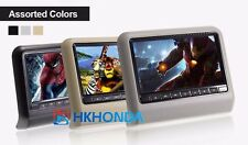 """1PC 9"""" inch color Screen Headrest DVD Monitor Built-in DVD CD Player For Honda"""