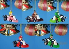 Takara Nintendo Super Mario Decoration Xmas Tree Ornament Home Decor K1335 ASet5