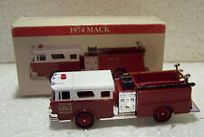 Toy Replica Mack Fire Truck 1974