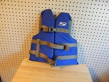 Stearns Youth Flotation Aid Ski Vest - blue - 50-90 lbs