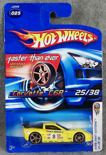 HOT WHEELS ~ 2006 FIRST EDITIONS ~ 2007 CORVETTE C6R ~ YELLOW