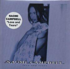 ★☆★ CD Single Naomi CAMPBELL Love & tears 2-Track CARD SLEEVE STICKER ★☆★
