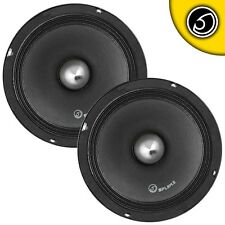 "Bass Face SPL8M.2 8"" Inch 20cm 1400w Mid Bass Drivers Car Pro Audio Speakers"