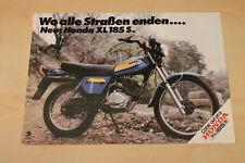 84574) Honda XL 185 S Prospekt 1977