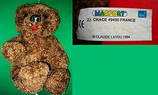 """1994 - Gros Ours """"NOUNOURS"""" de """"BONNE NUIT LES PETITS"""" (CLAUDE LAYDU)"""