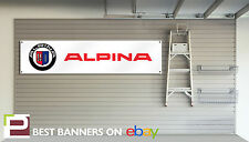 Alpina Workshop Garage Banner, D3, B3, XD3, B3GT3, D5, B5, B6, B7, Bi Turbo