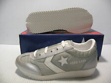 CONVERSE ROAD STAR ALL STAR VINTAGE MEN/WOMEN SHOES SILVER 15880 SIZE 5 7 NEW