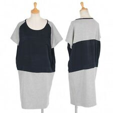green label relaxing bi color Cocoon Dress Size S~M(K-23202)