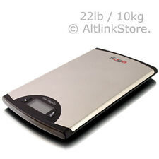 SAGA DIGITAL KITCHEN SCALE 22 LB 10 KG x2G 0.1oz DIET FOOD WEIGHT POSTAL W/11/ST