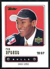 1999-00 Upper Deck Retro Gold 97 Ron Artest Rookie 60/250
