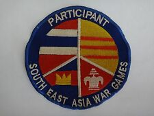 Vietnam War Patch 34th Tactical Fighter Sq PARTICIPANT SOUTHEAST ASIA WAR GAMES