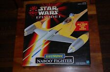 Naboo Fighter Electronic-Star Wars The Phantom Menace-MIB-Anakin Skywalker