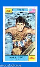 Figurina CAMPIONI DELLO SPORT 1969/70- n. 278 - M. SPITZ (USA) - NUOTO -rec