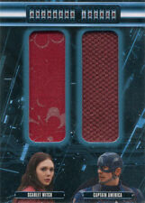Marvel Avengers Age of Ultron Locker Double Dual AL2-WC Costume Relic Card
