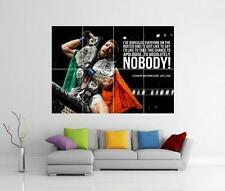 Conor McGregor citare il famigerato UFC MMA Giant Wall Art PHOTO PIC STAMPA POSTER