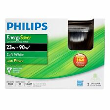 Philips 408922 Energy Saver Compact Fluorescent 23-Watt PAR38 Indoor/Outdoor Flo