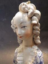 Beautiful Vintage Cordey Porcelain Lady Bust with Crown