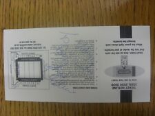05/01/2002 ticket rugby union-cardiff v as montferrand [heinken cup] (complet