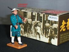 KING AND COUNTRY HK201G STREETS OF OLD HONG KONG POLICEMAN MARCHING METAL FIGURE