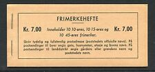 Norway Booklet with Scott 307a, 325a, 363a, Facit H30