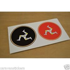 Car Window Classic Isle of Man TT Races Sticker Decal Graphic PAIR
