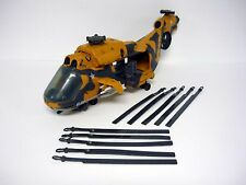 G.I. JOE TOMAHAWK Vintage Action Figure Vehicle Helicopter COMPLETE 1986