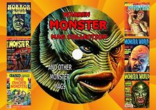 WARREN MONSTER MAG COLLECTION ON DVD ROM (PRINTED DISC)