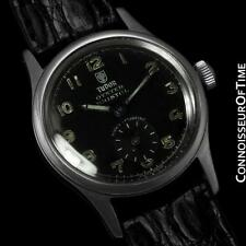 1948 TUDOR (Rolex) OYSTER BRISTOL Midsize Small Rose Military Style - Ref. 4453