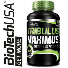 New BioTech USA Tribulus Maximus 90 Capsules 1500mg ! Terrestris Testosterone