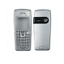 New Full Housing Cover Case Front + Back + Keypad For Nokia 6230 6230i Silver