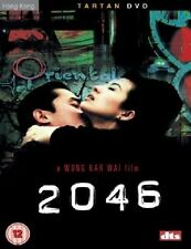 2046 DVD Tony Leung Chiu Wai Brand Tartan Release New Sealed Region 2 UK Release