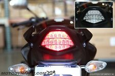 2011-2013 Honda CBR 250R 15-17 CBR300R SEQUENTIAL Signal LED Tail Light Smoke
