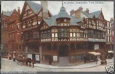 Chester The Cross  Shops Bridge & Foregate Street Old Unposted Postcard