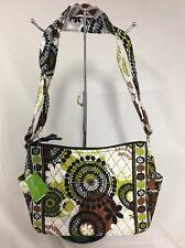 Vera Bradley Rare On The Go Cocoa Moss Crossbody Purse Bag NWT