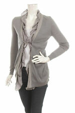 ALLUDE 100% CASHMERE KASCHMIR CARDIGAN STRICK Size S