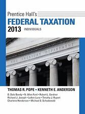 Prentice Hall's Federal Taxation 2013 Individuals (26th Edition) (Prentice Hall'