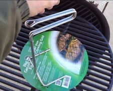 "Stainless Steel Ott Grid Grill Lifter Tool 1/4"" SS Big Green Egg Kamado USA Made"