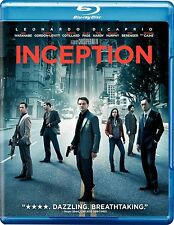 INCEPTION NEW BLU RAY +DVD MOVIE 3-DISC LEONARDO DICAPRIO JOSEPH GORDON LEVITT